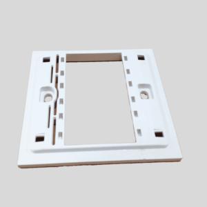 Tapa Pared Para 1 Servicios TRV-1 compatible: HDMI, VGA, PLUG Entre Otros