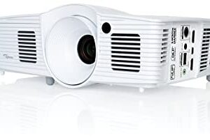 PROYECTOR OPTOMA HD28DSE , 3.000 ANSI Lumens HD; 8,000 hours (Eco)