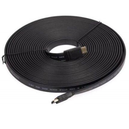 CABLE HDMI 20 mts velocidad 1.4  FLAT PLANO   HDMI-20FLAT
